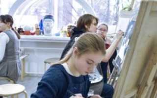 Обучение рисованию подростков