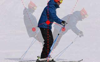Горные лыжи видео уроки для начинающих