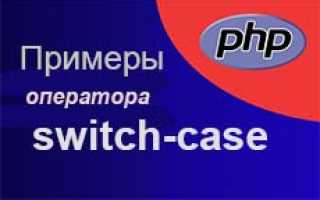 Php select case