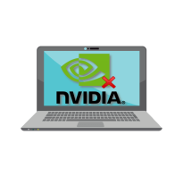 Не включается видеокарта nvidia на ноутбуке