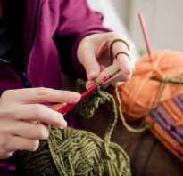 Урок вязания крючком для начинающих с нуля