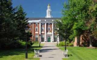 Гарвардская школа бизнеса стоимость обучения