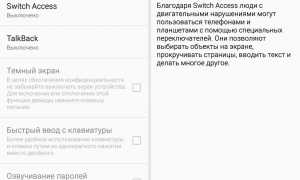 Что такое switch access на андроиде