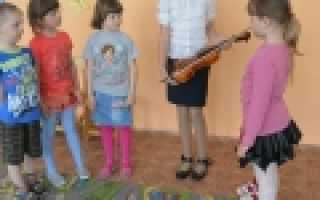 Скрипка урок 1