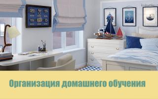 Дошкольное обучение на дому