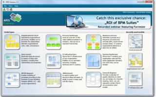 Моделирование бизнес процессов онлайн