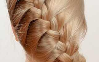 Французская коса как плести видео для начинающих