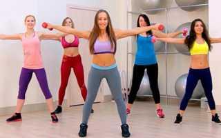 Видео фитнеса для похудения дома под музыку