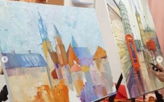 Интуитивная живопись мастер класс