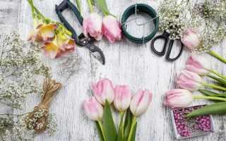 Мастер класс сделать букет цветов