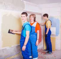 Специальность мастер отделочных строительных работ