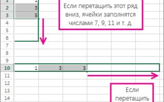 Анализ временных рядов в excel