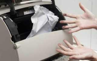 Не печатает из office