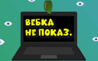 Почему видеокамера не показывает изображение