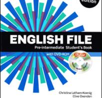 Курсы английского языка pre intermediate
