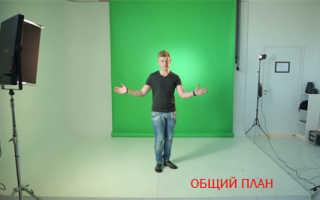План съемки видеоролика