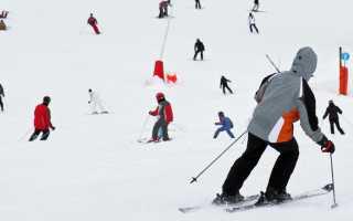 Как кататься на лыжах видео