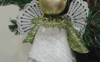 Мастер класс рождественский ангелочек