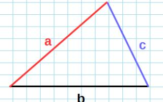 Равнобедренный треугольник онлайн