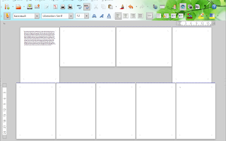 Libreoffice удалить разрыв страницы