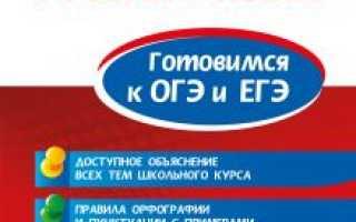 Книга подготовка к огэ по русскому языку