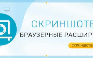 Скриншотер для браузера