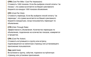 Отчет по интернет маркетингу